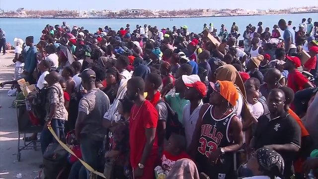 Confusion remains constant for Bahamians attempting evacuation to United States