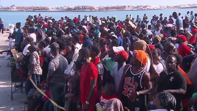 Bahamians attempting evacuation finding confusing rules for entering…