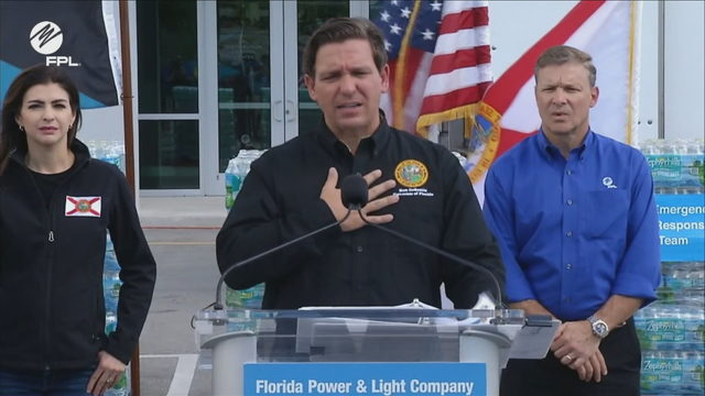 DeSantis, FPL make Bahamas relief announcement