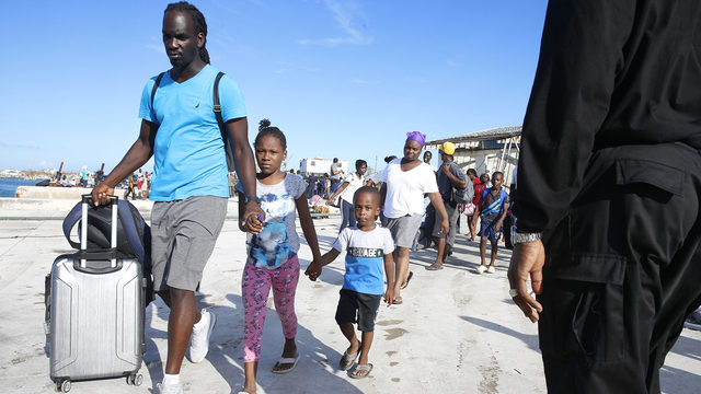 12-year-old Bahamian evacuee separated from her family by Customs and…