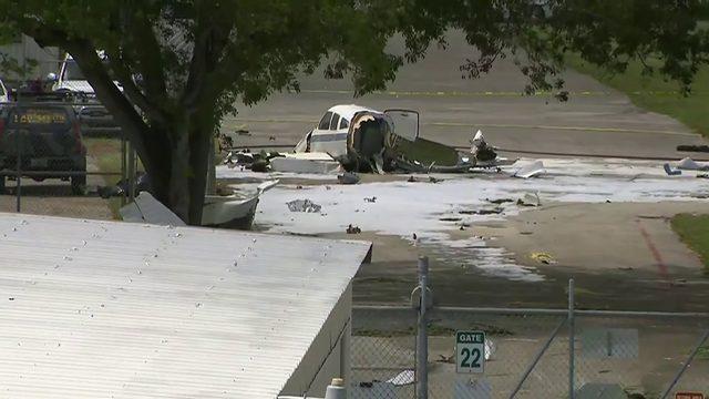 Small plane crashes near Boca Raton Airport