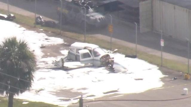 WATCH LIVE: Plane crashes in Boca Raton
