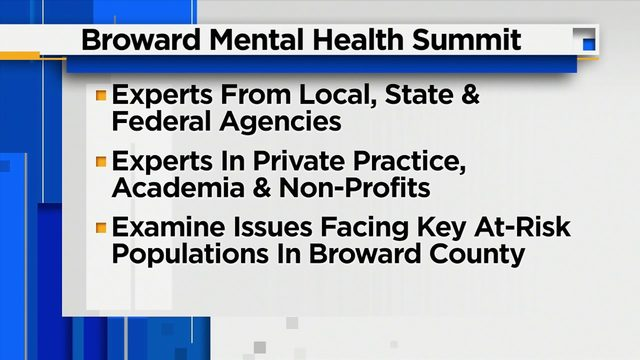 Broward Mental Health Summit to bring together experts from numerous agencies
