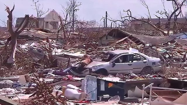 2,500 people registered as missing in Bahamas, officials say