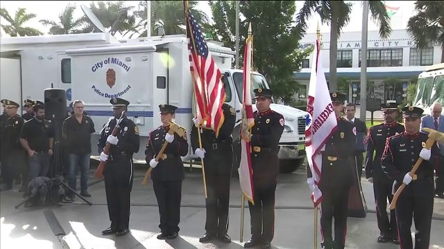 First responders honor those killed in 9/11 terrorist attacks