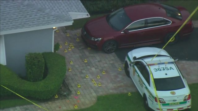 Miami-Dade police officers injured in shootout with suspect