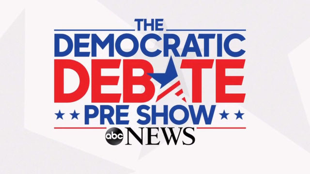 WATCH IT LIVE: Democratic debate pre-show begins