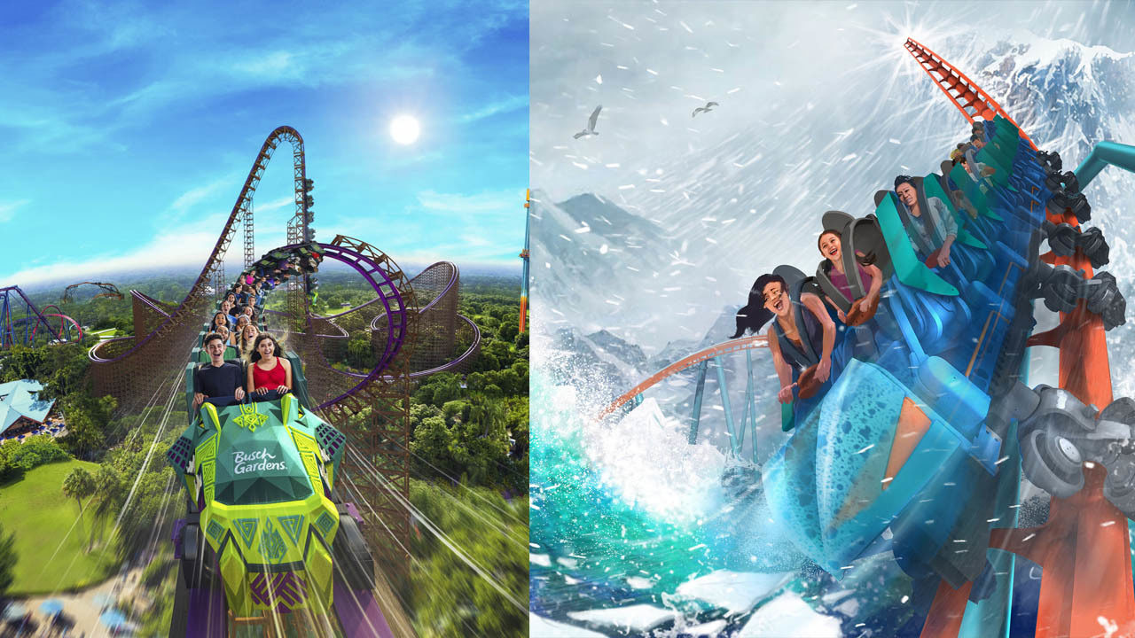Tallest, fastest, steepest! New coasters coming to Florida theme parks