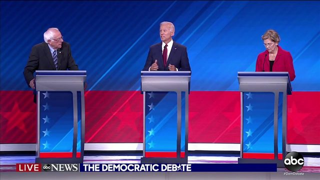 Democratic debate: Fiery exchanges over costs of health care