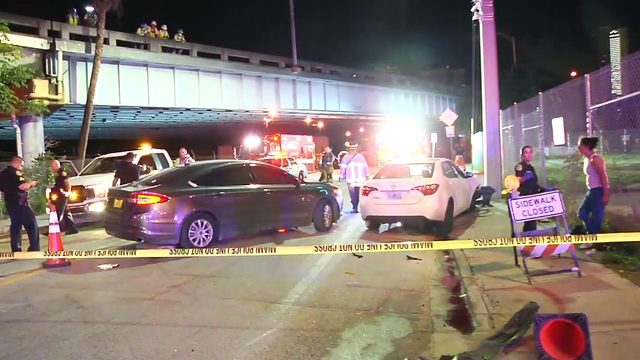 Miami police officer injured in DUI crash