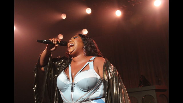 Lizzo Live Fire at Fillmore Miami Beach