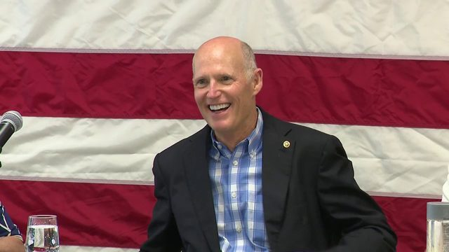 Rick Scott meets with academic, corporate leaders on making college affordable