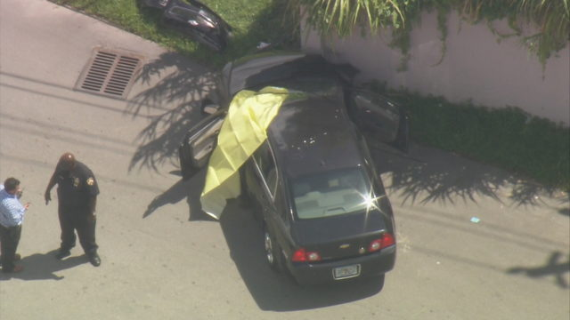 Man found shot to death in car in Opa-locka