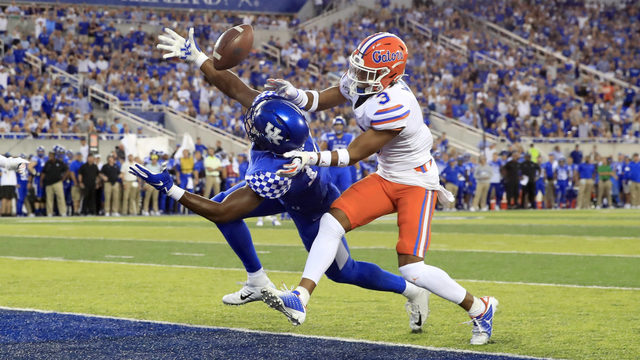 No. 9 Florida rallies past Kentucky 29-21 in SEC opener