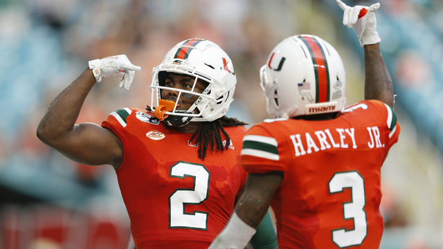 Miami gives Diaz 1st win by beating Bethune-Cookman 63-0
