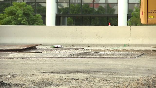 William Lehman Causeway's westbound lanes remain closed