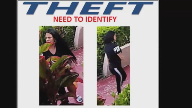 Miramar police search for woman caught on camera stealing plants, patio…