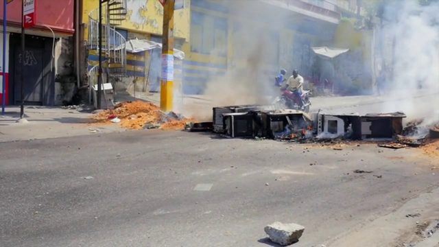Political crisis continues in Haiti