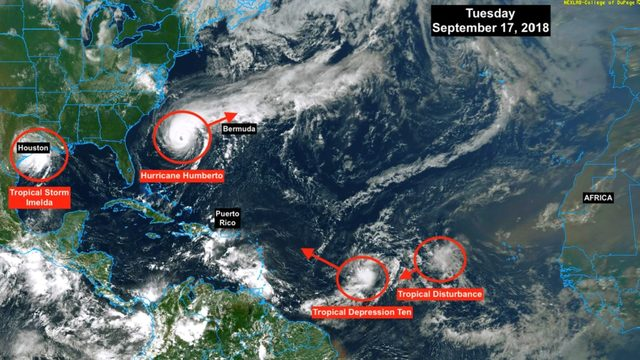 Tropical Depression Ten forms; forecast to quickly become tropical storm