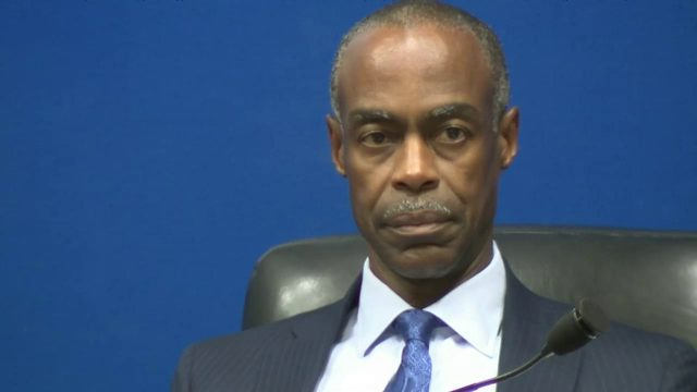 Superintendent Robert Runcie gave himself high marks
