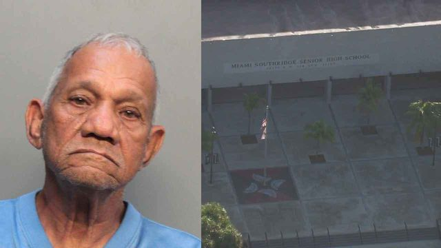 Man accused of masturbating outside Miami Southridge Senior High School