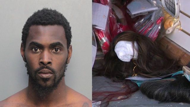 Man arrested in connection with wig heist in Miami Gardens