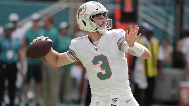 Josh Rosen to start for Dolphins vs. Cowboys