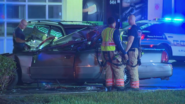 1 seriously injured in crash involving garbage truck in Lauderhill