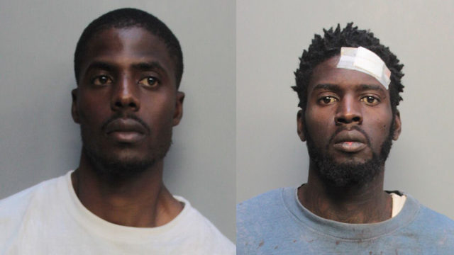 2 men face charges in robbery that led to bailout in Miami-Dade County
