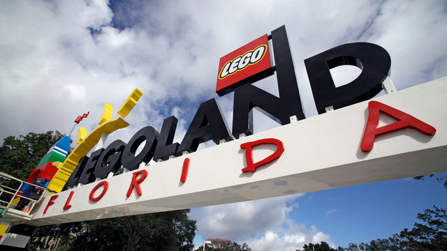 Florida firefighters rescue woman stuck on Legoland ride