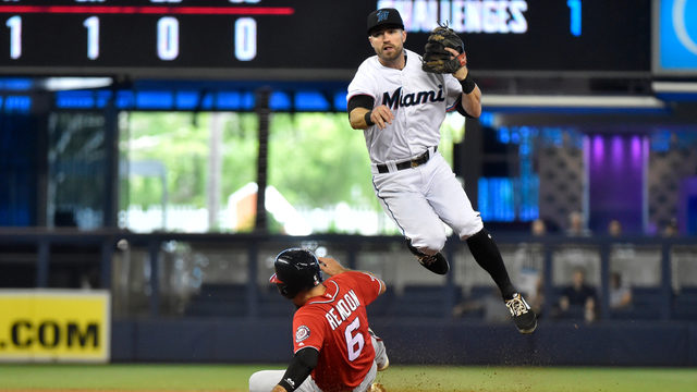 Marlins pick up 5-3 win over Nationals in final home game of season