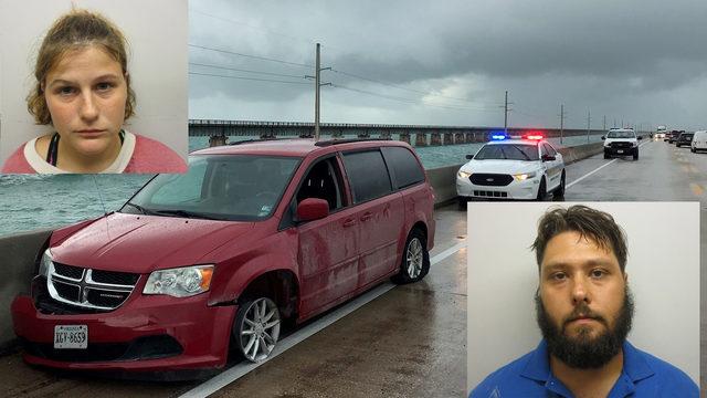 Man driving stolen minivan leads deputies on lengthy pursuit in Florida Keys