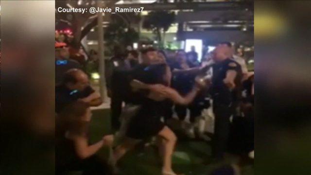 Brickell bar brawl caught on camera