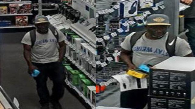 Man caught on camera stealing headphones from Best Buy in Pembroke Pines