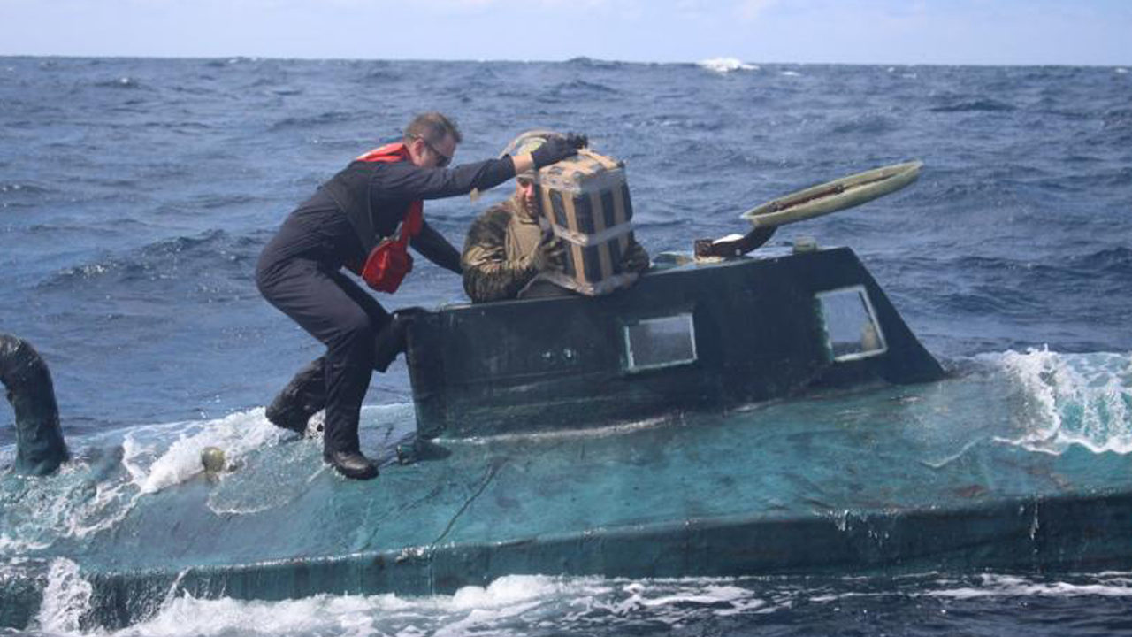 Florida-based Coast Guard busts narco sub carrying $165M in cocaine