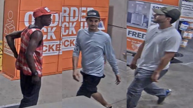 3 men steal $907 worth of chainsaws from Home Depot in Pembroke Pines