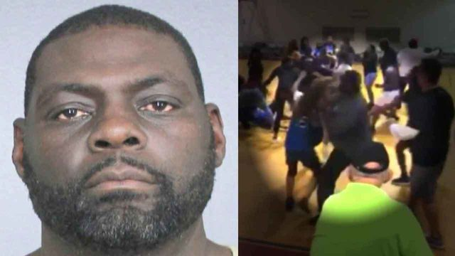 Police arrest man seen in video punching girl at youth basketball game