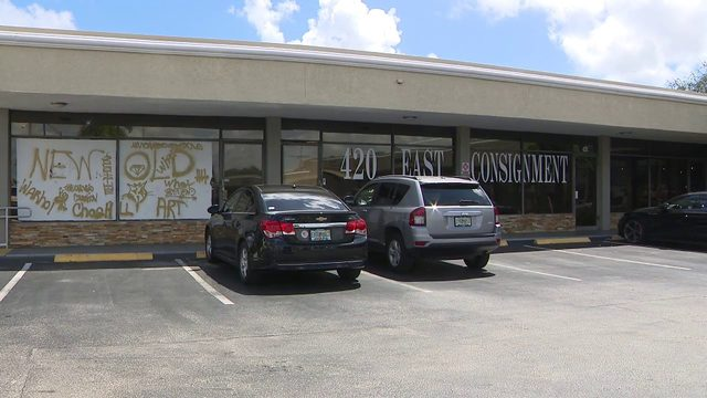 Consignment store owners says she's done nothing wrong after business closes