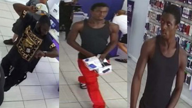 Police seek 2 men involved in grand theft at Metro PCS store
