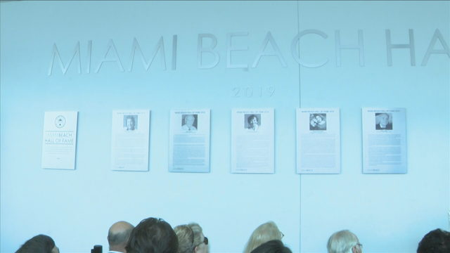 Miami Beach inducts first class of city's Hall of Fame