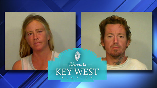 Strangers caught having sex in woman's Key West yard