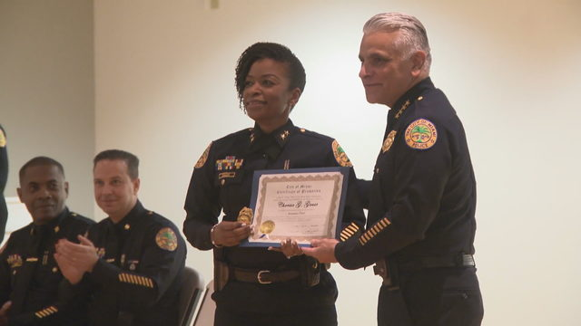 Miami gets first female Haitian American assistant police chief