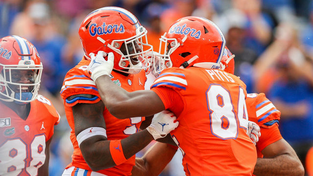 Trask, No. 9 Florida handle FCS's Towson in Swamp, 38-0