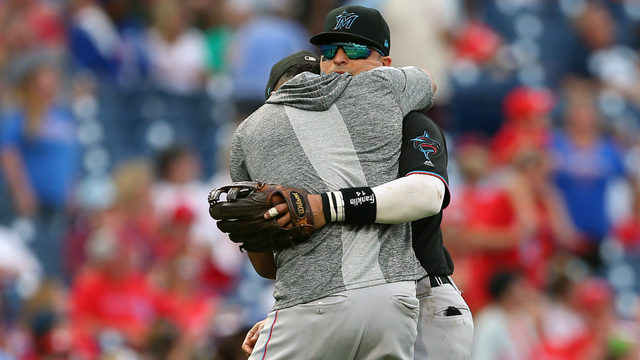 Marlins end season with 4-3 win over Phillies