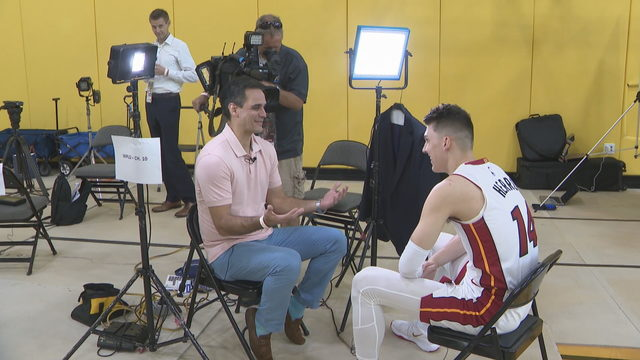 Thoughts & observations from Miami Heat media day with Local 10's Will…