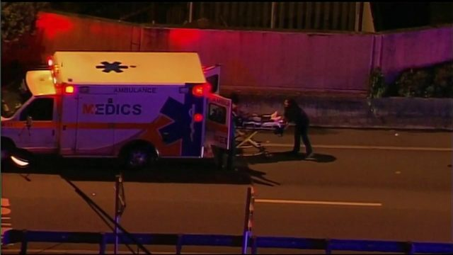 3 shot after fight on I-95 on-ramp at Miami Gardens Drive
