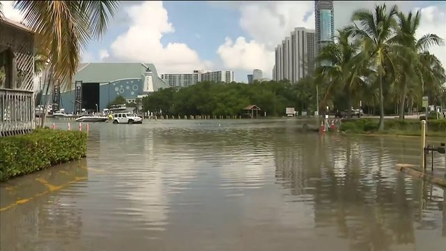 Peaking King Tides causing issues for some South Florida residents and…