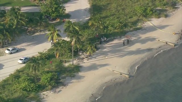Several swimmers rescued from water near Crandon Beach Park in Key Biscayne