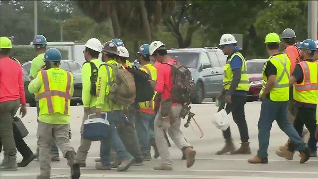 Workers temporarily evacuated from Seminole Hard Rock Hotel & Casino…