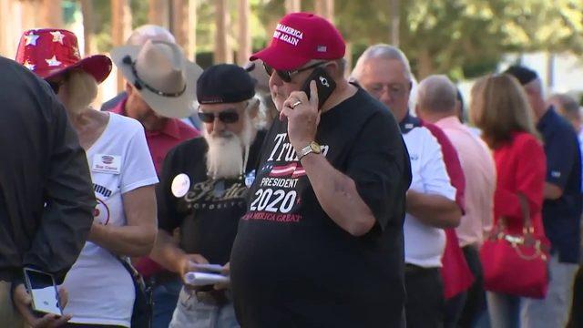 Photos: Trump visits Florida's The Villages